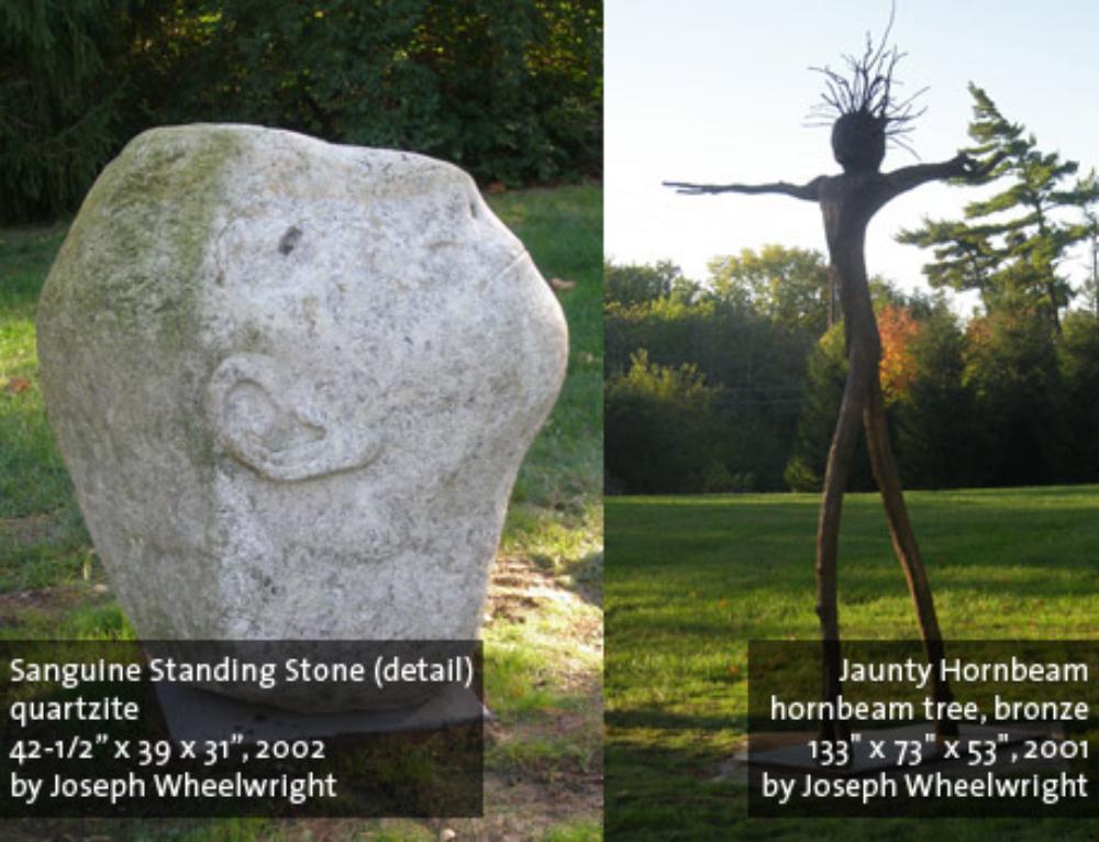 Sanguine Standing Stone & Jaunty Hornbeam